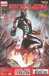 Cover Thumbnail for Iron Man (Panini France, 2013 series) #1
