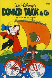 Cover Thumbnail for Donald Duck & Co (Hjemmet / Egmont, 1948 series) #22/1976
