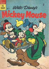 Cover Thumbnail for Walt Disney's Mickey Mouse (W. G. Publications; Wogan Publications, 1956 series) #11