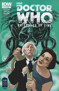 Cover Thumbnail for Doctor Who: Prisoners of Time (IDW, 2013 series) #1 [Retailer Incentive Cover A - Simon Fraser]