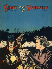 Cover Thumbnail for Spøk og Spenning (Oddvar Larsen; Odvar Lamer, 1950 series) #11/1952