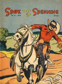 Cover Thumbnail for Spøk og Spenning (Oddvar Larsen; Odvar Lamer, 1950 series) #17/1952