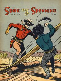 Cover Thumbnail for Spøk og Spenning (Oddvar Larsen; Odvar Lamer, 1950 series) #19/1952