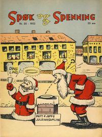 Cover Thumbnail for Spøk og Spenning (Oddvar Larsen; Odvar Lamer, 1950 series) #20/1952