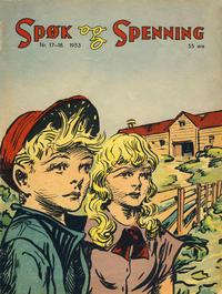 Cover Thumbnail for Spøk og Spenning (Oddvar Larsen; Odvar Lamer, 1950 series) #17-18/1953