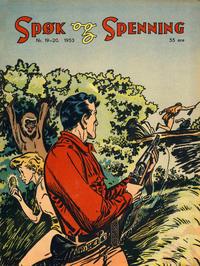 Cover Thumbnail for Spøk og Spenning (Oddvar Larsen; Odvar Lamer, 1950 series) #19-20/1953