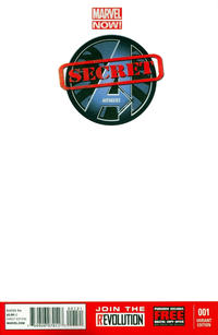 Cover Thumbnail for Secret Avengers (Marvel, 2013 series) #1 [Blank Cover]