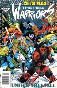 Cover Thumbnail for The New Warriors (Marvel, 1990 series) #46 [Newsstand]
