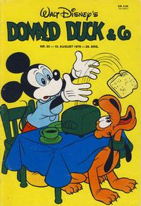Cover Thumbnail for Donald Duck & Co (Hjemmet / Egmont, 1948 series) #33/1976