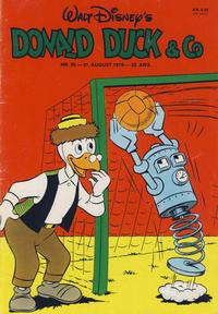 Cover Thumbnail for Donald Duck & Co (Hjemmet / Egmont, 1948 series) #36/1976