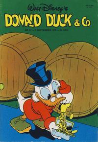 Cover Thumbnail for Donald Duck & Co (Hjemmet / Egmont, 1948 series) #37/1976