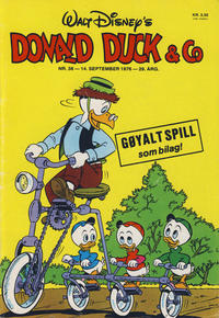 Cover Thumbnail for Donald Duck & Co (Hjemmet / Egmont, 1948 series) #38/1976