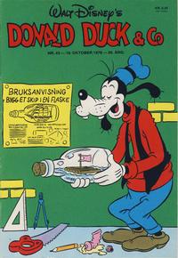 Cover Thumbnail for Donald Duck & Co (Hjemmet / Egmont, 1948 series) #43/1976