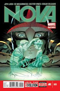 Cover Thumbnail for Nova (Marvel, 2013 series) #5 [Ed McGuinness Cover]