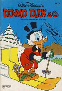 Cover Thumbnail for Donald Duck & Co (Hjemmet / Egmont, 1948 series) #1/1977