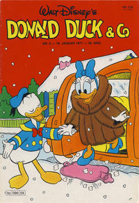 Cover Thumbnail for Donald Duck & Co (Hjemmet / Egmont, 1948 series) #3/1977