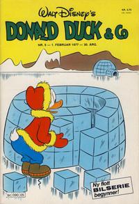 Cover Thumbnail for Donald Duck & Co (Hjemmet / Egmont, 1948 series) #5/1977