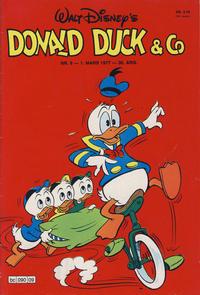 Cover Thumbnail for Donald Duck & Co (Hjemmet / Egmont, 1948 series) #9/1977