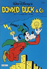 Cover Thumbnail for Donald Duck & Co (Hjemmet / Egmont, 1948 series) #11/1977