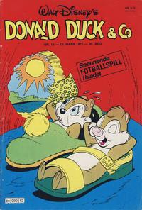 Cover Thumbnail for Donald Duck & Co (Hjemmet / Egmont, 1948 series) #12/1977