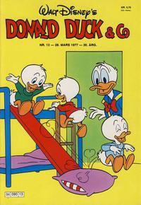 Cover Thumbnail for Donald Duck & Co (Hjemmet / Egmont, 1948 series) #13/1977