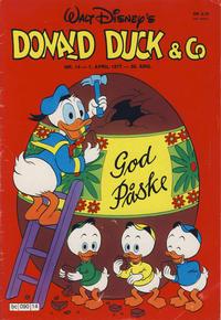 Cover Thumbnail for Donald Duck & Co (Hjemmet / Egmont, 1948 series) #14/1977