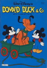 Cover Thumbnail for Donald Duck & Co (Hjemmet / Egmont, 1948 series) #15/1977