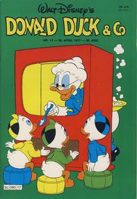 Cover Thumbnail for Donald Duck & Co (Hjemmet / Egmont, 1948 series) #17/1977