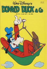 Cover Thumbnail for Donald Duck & Co (Hjemmet / Egmont, 1948 series) #18/1977