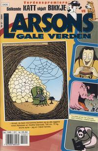 Cover Thumbnail for Larsons gale verden (Bladkompaniet / Schibsted, 1992 series) #1/2004