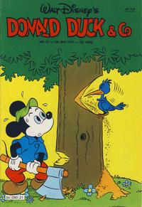 Cover Thumbnail for Donald Duck & Co (Hjemmet / Egmont, 1948 series) #21/1977