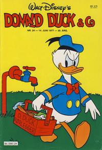 Cover Thumbnail for Donald Duck & Co (Hjemmet / Egmont, 1948 series) #24/1977