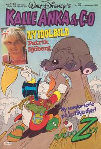 Cover Thumbnail for Kalle Anka & C:o (Hemmets Journal, 1957 series) #37/1985