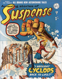 Cover Thumbnail for Amazing Stories of Suspense (Alan Class, 1963 series) #8