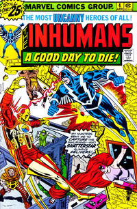 Cover Thumbnail for The Inhumans (Marvel, 1975 series) #4 [25¢ Cover Price]