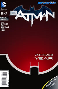 Cover Thumbnail for Batman (DC, 2011 series) #21 [Combo-Pack]