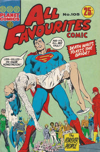 Cover Thumbnail for All Favourites Comic (K. G. Murray, 1960 series) #105