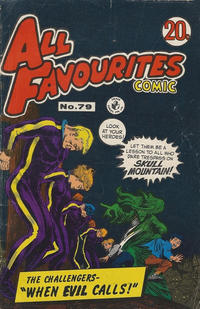Cover Thumbnail for All Favourites Comic (K. G. Murray, 1960 series) #79