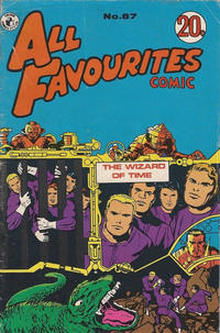 Cover Thumbnail for All Favourites Comic (K. G. Murray, 1960 series) #87