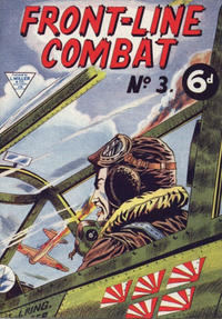 Cover Thumbnail for Front-Line Combat (L. Miller & Son, 1959 series) #3