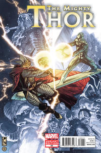 Cover Thumbnail for The Mighty Thor (Marvel, 2011 series) #22 [Simone Bianchi]