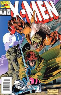 Cover Thumbnail for X-Men (Marvel, 1991 series) #33 [Newsstand]