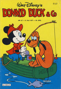 Cover Thumbnail for Donald Duck & Co (Hjemmet / Egmont, 1948 series) #27/1977