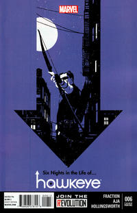 Cover Thumbnail for Hawkeye (Marvel, 2012 series) #6 [3rd Printing]