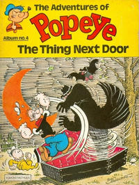 Cover Thumbnail for The Adventures of Popeye (Egmont/Methuen, 1978 ? series) #4