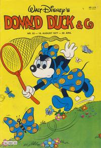 Cover Thumbnail for Donald Duck & Co (Hjemmet / Egmont, 1948 series) #33/1977