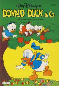 Cover Thumbnail for Donald Duck & Co (Hjemmet / Egmont, 1948 series) #34/1977