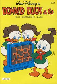 Cover Thumbnail for Donald Duck & Co (Hjemmet / Egmont, 1948 series) #36/1977