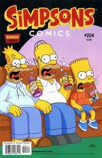 Cover Thumbnail for Simpsons Comics (Bongo, 1993 series) #204