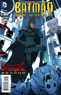 Cover Thumbnail for Batman Beyond Unlimited (DC, 2012 series) #18